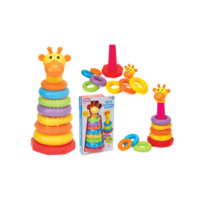 Funtime Gerry The Giraffe Stacking Rings Baby Toddler Educational Toy 12 Months+