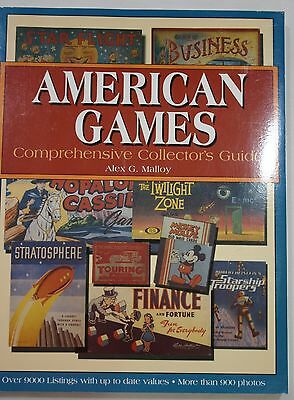 AMERICAN GAMES Comprehensive Collector's Guide - Alex G Malloy