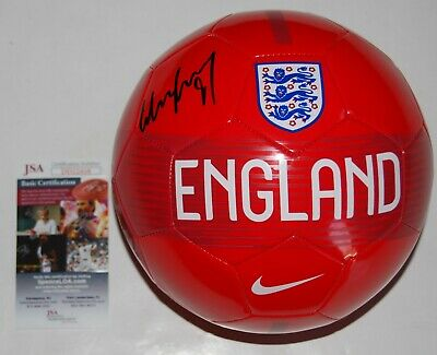 5bff911f6a7 WAYNE ROONEY signed (ENGLAND) MANCHESTER UNITED  PROOF  DC Soccer ball JSA