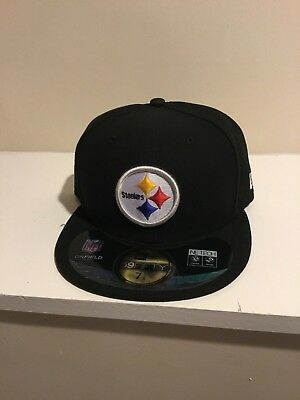 bb621e0a7 ... purchase sale new era 59fifty nfl cap pittsburgh steelers basic team  fitted hat black bcd29 dffc5