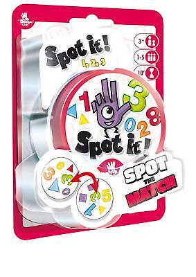 Spot It! 1,2,3 Blister Number Family Card Game Asmodee Zygomatic Party 123 SP615
