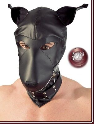 Sex Toys Maschera Canina Leather Dog Mask Fetish Bondage bdsm Slave Fetish Fuck