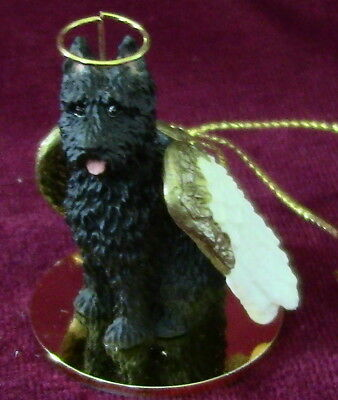 Bouvier des Flandres (cropped) Angel for Red Leash Rescue ~ Excellent Deal!
