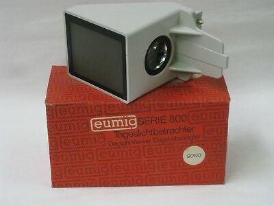 Eumig daylight viewer for Projector Series 800 new old stock