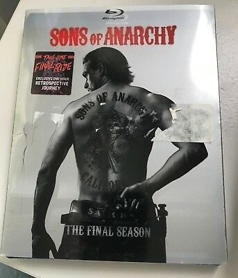 Sons of Anarchy: The Final Season (Blu-ray Disc, 2015, 4-Disc Set) Sealed New