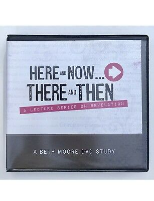 Here and Now...There and Then A Beth Moore DVD Study BRAND NEW SEALED
