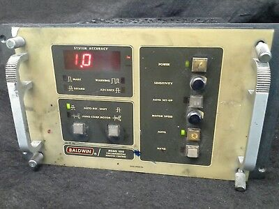 Baldwin Model 1010 Circumferential Register Control