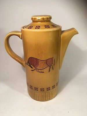 palissy worcester Taurus Coffee / Tea Pot