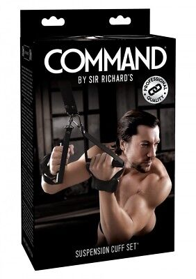 SEXY TOYS Manette da sospensione Command Suspension Cuff Set Bondage Fetish bdsm