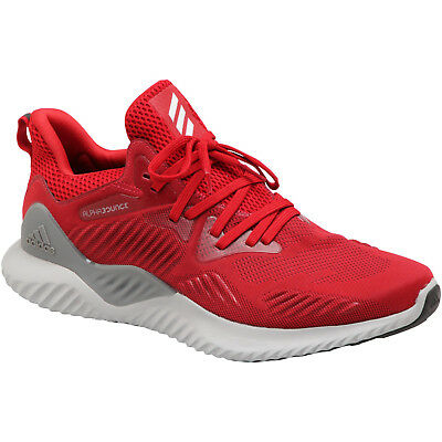 e7b80f515cd8c Adidas AlphaBounce Beyond M Knit Men s Running Training Athletic Shoes Red