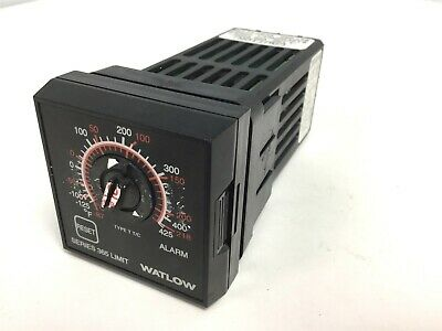 Watlow 365D-D610-1000 Series 365 Temperature Controller, Voltage: 120VAC