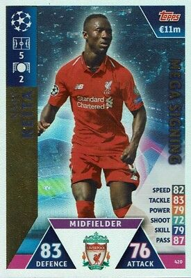 Topps Match Attax Champions League 2018/2019 Mega Signing Keita 420