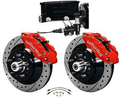64-72 CHEVELLE MANUAL Wilwood 4 Wheel Disc Brakes Kit 11