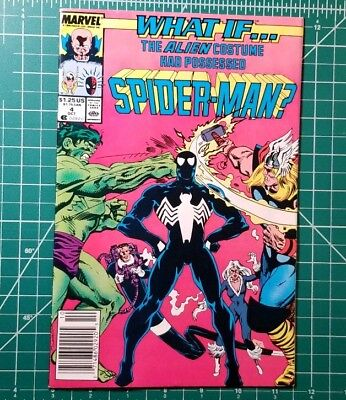 What If? #4 The Alien Costume Had Possessed Spider Man? KEY Early Venom [Marvel]