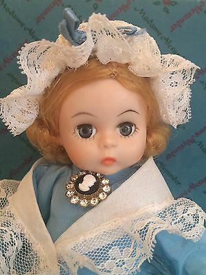 Madame Alexander Wendy Kins United States 8in Doll Restrung Tag Box Dress 70s