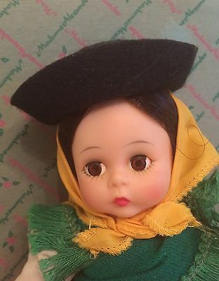 Madame Alexander Wendy Kins Portugal 8 Inch Doll Tag Dress BKNW 1969