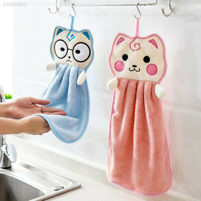F87D Food Dish Towels Rub The Towel Blue Strong Water Absorption Beautiful