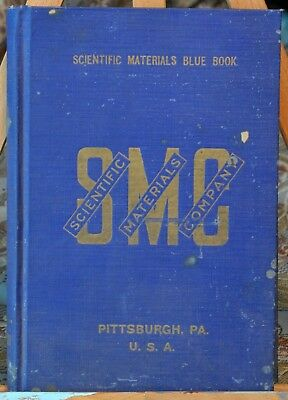 Scientific Materials Blue Book, Scientific Materials Company (1919)
