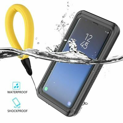 For Samsung Galaxy S8 S9 Plus Note 8 Waterproof Case Shockproof Underwater Cover