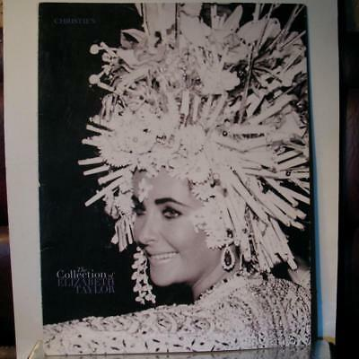 Christie's ELIZABETH TAYLOR Auction Pamphlet 2011 Fold-Out Collection Highlights