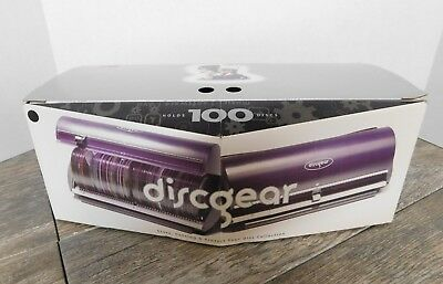 Discgear Selector 100 CD DVD Video Game Software Storage System Case Organizer