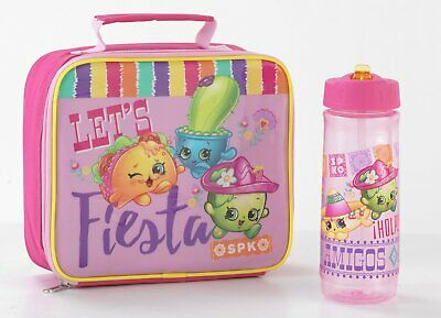 Shopkins Fiesta Lunch Bag and Bottle