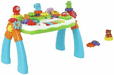VTech Gear Zoos 5 Piano Keys sing along 25 melodies Activity Table 18+ Months