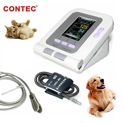 CONTEC08A-VET Digital Veterinary Blood Pressure Monitor Cuff+ Probe+Adapter Pets