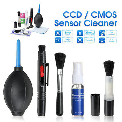 9 in 1 Lens Sensor Cleaning Kit For Canon Nikon Sony DSLR Camera Professional