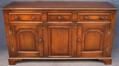 Georgian Style Solid Oak Sideboard Dresser Base