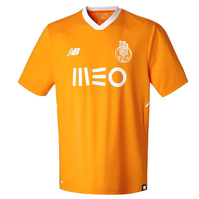 Official FC Porto Football Away Shirt Jersey Tee Top 2017/18 Mens New Balance