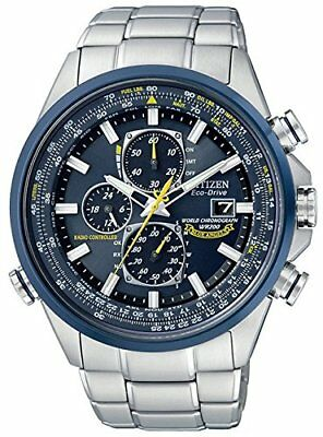 Citizen Watch Eco Drive Blue Angels Chronograph AT Watch AT 8020-54 L Mens