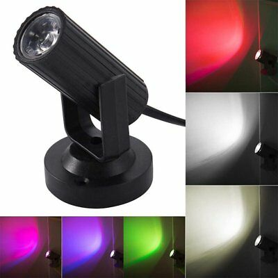 LED Mini Moving Head Beam Light Stage Lighting Party DJ Disco Club KTV Bar