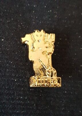 Manchester United MUFC Red Devil Metal Badge