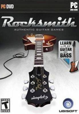 Rocksmith: Learn Guitar & Bass - (Game Only) Authentic Song Lessons PC NEW