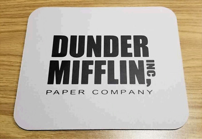 The Office Dunder Mifflin Paper Company Mouse Pad TV Show