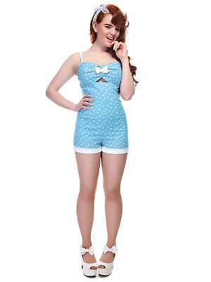 Collectif Vintage Ariel Nautical Playsuit