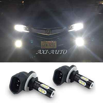 2x 881 889 White 50W CREE Car LED Fog Lamp Driving DRL Lights for Dodge Kia GMC