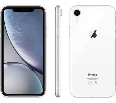 Apple Iphone Xr 128Gb White 6.1  Nuovo Bianco Gar 24 Mesi Smartphone 128 Gb X R
