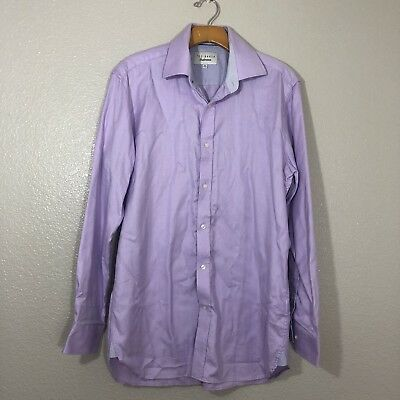 4dce207f9ee8 MENS TED BAKER Endurance Button Down Dress Shirt Sz 15 1 2 32 33 ...