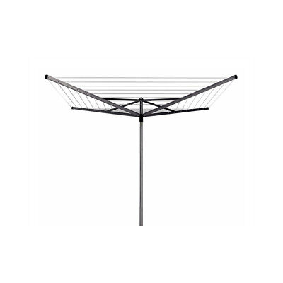 Brabantia Essential Rotary Washing Line Airer with Concrete Anchor Tube, 50 m -