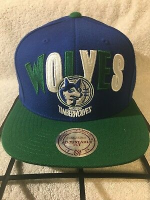 aaec3be1496d2 ... clearance minnesota timberwolves mitchell ness nba snapback hat cap  hardwood hwc wolves 66251 2e855