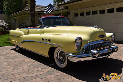 1953 Buick Super Convertible Coupe Model 53-56C, Style 53-4567X 1953 Buick Super Convertible Model 56C Fireball 322ci V-8 Dyna-Flow Automatic