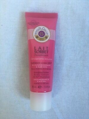 Roger & Gallet Gingembre Rouge Lait Sorbet Body Lotion 50ml Travel Size