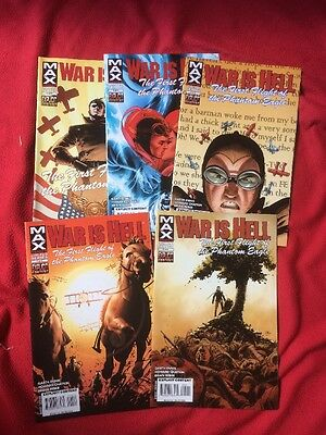 WAR IS HELL The First Flight Of The Phantom Eagle #1-5 Garth Ennis