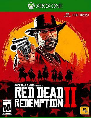 Xbox One Red Dead Redemption 2 (Xbox One, 2018) Brand NEW Sealed