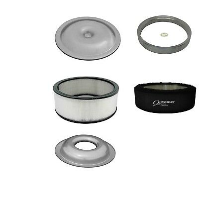 Air Cleaner Kit with Housing / Paper 14 x 4 Filter / Sure Seal / Outerwear