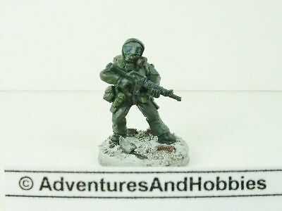 Post Apocalypse Soldier Wastelands Fighter Miniature Painted 25 mm Zombies 418 H