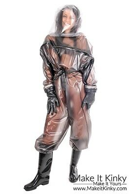 PVC Hazmat Suit - Plastic Nuke Nuclear Chemical Playsuit - PVC U Like