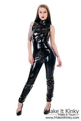 PVC Jumpsuit - Plastic Jump Suit - Catsuit - Shiny - PVC-U-Like